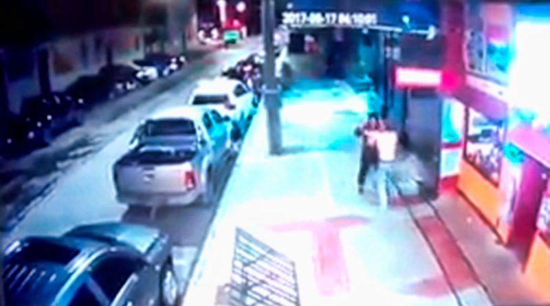 [VIDEO] Comerciante frustró robo a mano armada en el centro de Punta Arenas