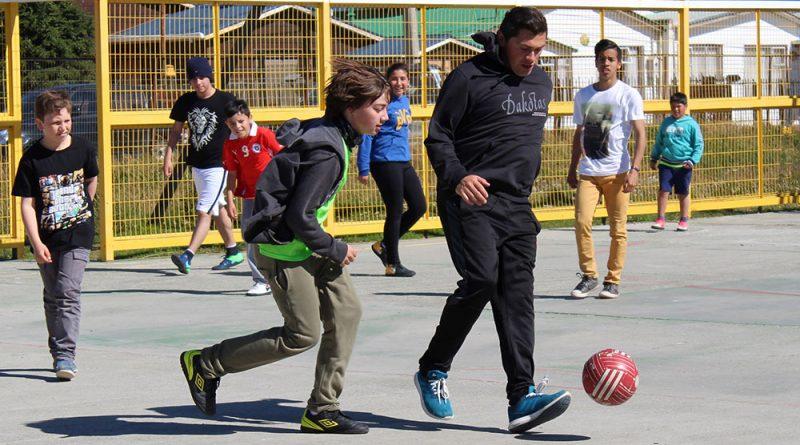 Actividades deportivas y culturales se trasladan este lunes a población Alfredo Lorca