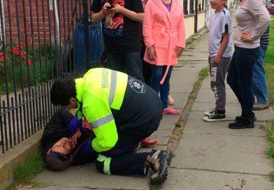 Riña terminó con varios heridos con arma blanca en el Barrio Sur