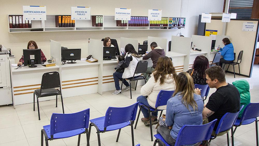 Registro social de hogares y subsidios municipales se for Oficina registro