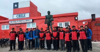 Ejército inició segunda fase del Proyecto Hielo en la Antártica