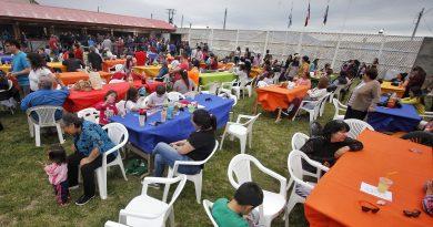 Cerca de mil personas ya disfrutan de la Fiesta del Ovejero