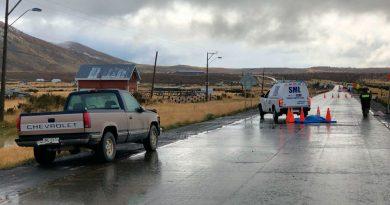 Joven de 23 años muere atropellado a 6 kilómetros de Natales