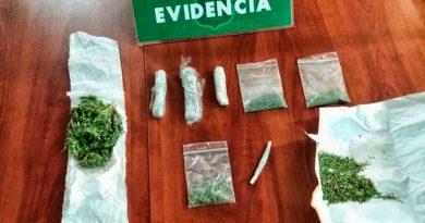 Joven fue detenida por supuesto microtráfico de marihuana