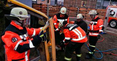 Bomberos recibieron capacitación intensiva en rescate vehicular