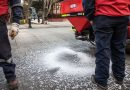"Municipio esparció 14 toneladas de sal tras ""primaveral"" nevada de octubre"