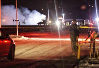 Gran incendio afectó dependencias de ex regimiento Ingenieros