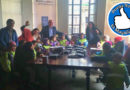 """Párvulos """"protestaron"""" en la municipalidad en defensa del Humedal Tres Puentes"""