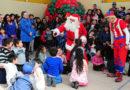 Más de 300 niños de Río Seco recibieron la visita del Viejito Pascuero