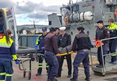 Operativo de la Armada permitió evacuar a buzo con mal de presión