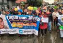 Puntarenenses marcharon en apoyo a niño magallánico que padece compleja enfermedad