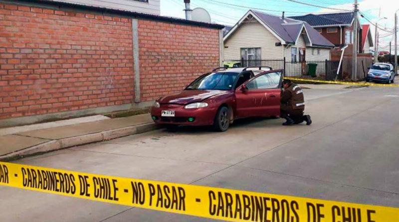 Con daños recuperan vehículo robado en Punta Arenas