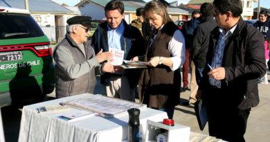 Vecinos de Villa Torres del Paine comenzaron la instalación de sus alarmas comunitarias