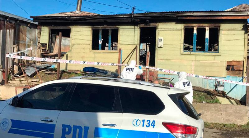 Descartan intervención de terceros en muerte de víctima de incendio en Natales