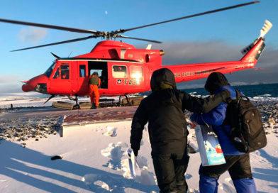 Evacuan de urgencia a ciudadano indonesio desde la Antártica