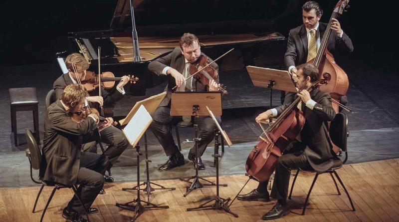 Quinteto de Cuerdas de la Sinfónica de Viena cierra primer semestre de la Cartelera Cultural