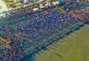 Exitoso Chapuzón: Tres mil bañistas y cerca de 10 mil asistentes a la helada actividad