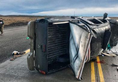 Familia de Ushuaia sufre fatídico accidente carretero en ruta chilena