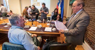 Alejandro Kusanovic fue electo como presidente del Consejo Regional de Magallanes