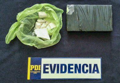 Pasajero abandonó más de un kilo de cocaína en avión que arribó a Punta Arenas