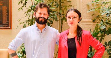 Diputados Gabriel Boric y Camila Vallejo presentarán proyecto de 40 horas en Punta Arenas