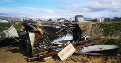 Denuncia que escombros de AFP quemada fueron arrojados en un sitio baldío