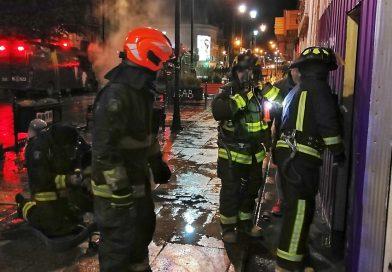 Nueva jornada nocturna de desórdenes en Punta Arenas