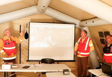 Simulación de incendio en parque Torres del Paine puso a prueba reacción de servicios públicos