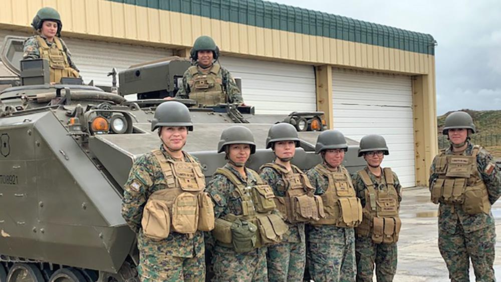 La Tercera División del Ejército Nacional tiene mujeres de