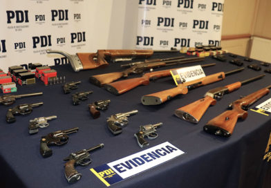 La PDI sacó de circulación numerosas armas y municiones irregulares en Punta Arenas