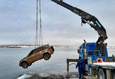 Encuentran un segundo vehículo sumergido en aguas del Canal Señoret