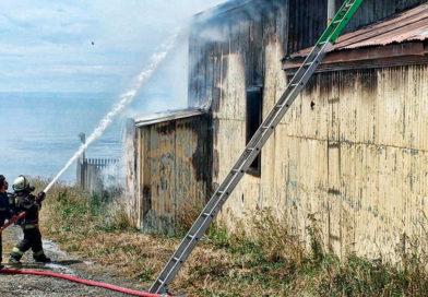 Detienen a un sospechoso del robo e incendio que afectó a la iglesia de Río Seco