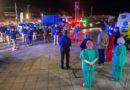 Policías y Fuerzas Armadas rindieron homenaje a trabajadores de la salud