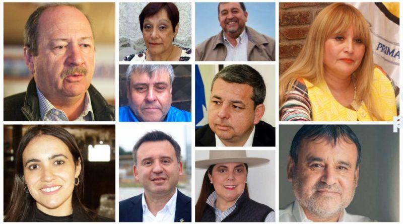 Estos son los alcaldes electos en las 10 comunas de la Región de Magallanes