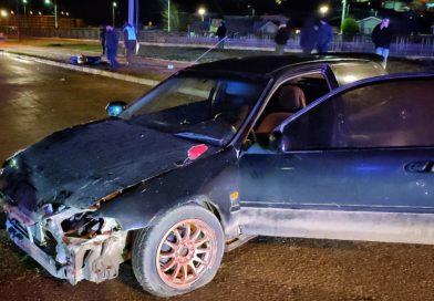 Dos personas herida tras accidente en Costanera del Río