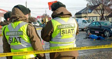 Con fatídico accidente simulado autoridades llaman a la conciencia durante Fiestas Patrias